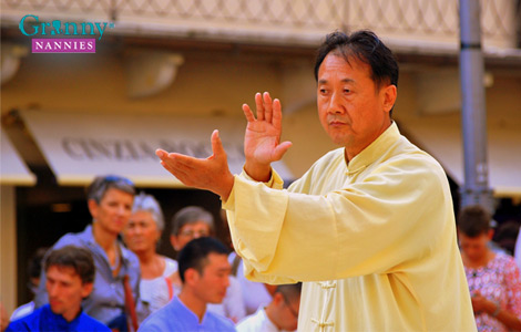 Tai Chi helps with balance and fall-prevention in the